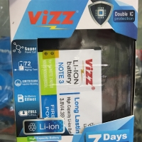 Baterai VIZZ Samsung Galaxy Note 3 N9000 Double Power