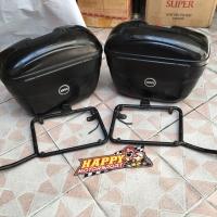 Harga sale 2nd mulus 80 paket side box e21 givi italy black | antitipu.com
