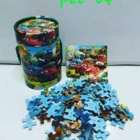 Jigsaw Puzzle Kayu Gambar Karakter Cantik Tabung Murah