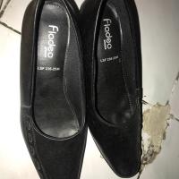 Pantofel shoes / sepatu kerja hak wanita FLADEO