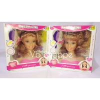 Mainan hair dream girl salon rambut barbie lengkap vogue salon girl