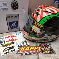 Helm Fullface Shark RaceRPro carbon Zarco 2018 ori France euro M L XL