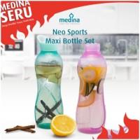 Botol minum neo sport maxi bottle set (1 set=2 pcs)