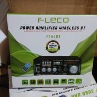 Power Amplifier Fleco F 165 BT Ampli Fleco F 165 Bluetooth Ac dan Dc