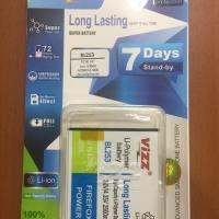 Baterai Vizz lenovo A1000/A2010 BL253 BL 253 double power batere batre