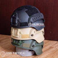 Tactical helmet mich 2000 3 colour import airsofter military helmet