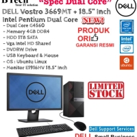 DELL Vostro 3669MT Dual Core/4GB/1TB/Intel Graphics/LINUX