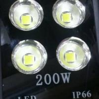 Kap lampu sorot led 200 watt 200w led floodlight lensa cob