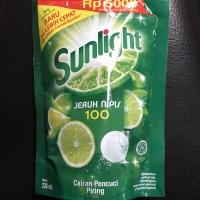 Sunlight 230ml 230 ml Eceran 5000 Jeruk Nipis Pencuci Piring Dus
