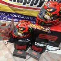 Helm Full Face Shark Race R Pro Diablo Lorenzo size M L XL ori France
