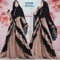 Gamis Syari Fatin Set Hijab