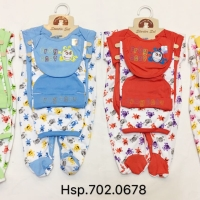 Baju Bayi SNI jumper New born 5 in 1 - Pakaian bayi katun halus