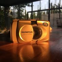 Kamera Analog Olympus Mju II Zoom 170 VF (Stylus Epic)