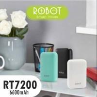 Jual Robot Powerbank RT7200 Dual USB 6600mAh Murah