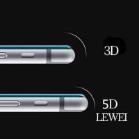 Tempered Glass 5D Vivo V9 6.3 inchi FULL COVER Screen Guard FULL LEM
