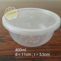 Food Container / Mangkuk Makan Microwave / Bowl 400ml ( isi 25set )