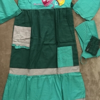 dannis jubah/terusan baju muslim anak perempuan size 12