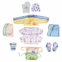 Set Pakaian Bayi Baru Lahir lengkap dari topi sampai bedong
