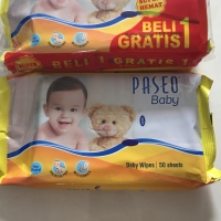 promo tissue tissu tisu paseo baby wipes 50sheets