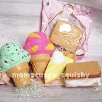 Squishy licensed sweet cake series by Geiiwo (squishy kue slow)