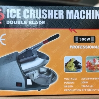 Ice Crusher Double Blade/Mesin Serut Es 2 Pisau