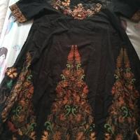 New Dress Batik batiken Anne Avantie size medium