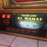 Jadwal sholat Digital Otomatis