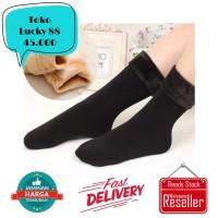 Kaos Kaki Musim Dingin Lapis Bulu Halus Winter Sock