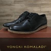Yongki komaladi slyn 23004 black sz 43 sepatu pantofel dress casual