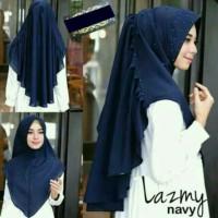 Jual Hijab Kerudung Jilbab Instan Khimar Lazmy Lazmi Mutiara Pearl Murah