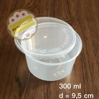 Food Container / Mangkuk Makan Microwave / Bowl / Cup puding 300ml