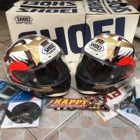 SALE! 2nd 95% Helm Shoei X14 Marquez Motegi Non SNI Ori Japan sz M & L