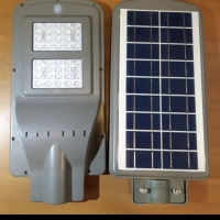 lampu jalan led pju solar cell all in one tenaga matahari 40w 40 watt