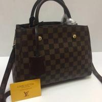 Tas Wanita merk Louis Vuitton Montaigne import Semi premium