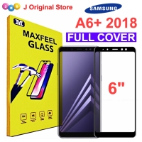 MAXFEEL Tempered Glass Samsung A6+ 2018 A6 Plus 2018 Full Cover