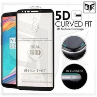 Tempered Glass 5D Samsung A6 Plus A6+ 2018 FULL Screen Guard FULL LEM