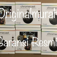 Jual Official Google Chromecast 2 HDMI Streaming TV Dongle Garansi Resmi Murah