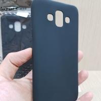 Slim Black Mate Samsung J7 Duo 5.5 inch Baby Skin Soft Case Anti Glare