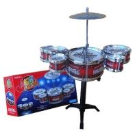Mainan drumset mini anak lengkap simbal stick alat musik pukul drum