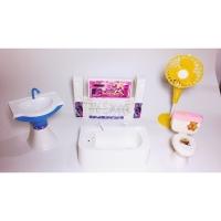Mainan tv bathtub kipas closet sink anak furniture kamar mandi