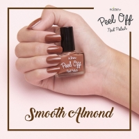 Nail Art Kutek Halal Muslimah Kid Friendly Warna Smooth Almond Skine87