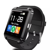 Cognos U Watch U8 Smartwatch Original - Tanpa Box- Hitam / Merah