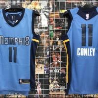 Jersey Basket Swingman Memphis Grizzlies Mike Conley #11 Biru 17-18