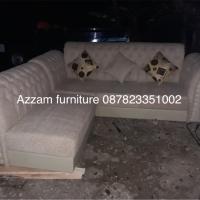 Sofa sudut A003 minimalis free ongkir bandung