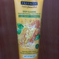 [READY] Freeman Deep Clearing Manuka Honey+Tea Tree Oil