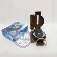 Kompas bidik camping - compass penunjuk arah - kompas foldable praktis