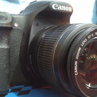 Kamera canon eos 60D second