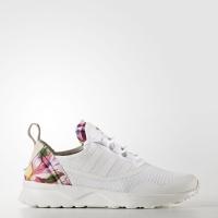 Adidas Women Zx Flux Adv Virtue Floral Shoes White Originals