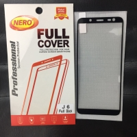 Tempered Glass Full Cover Samsung Galaxy J6 2018