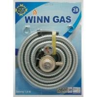 Selang + regulator winn gas